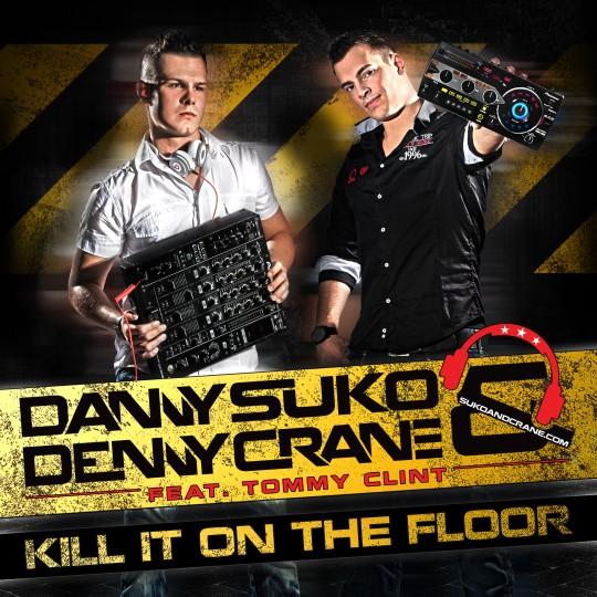 GAZ037 I Danny Suko & Denny Crane feat. Tommy Clint – Kill It On The Floor